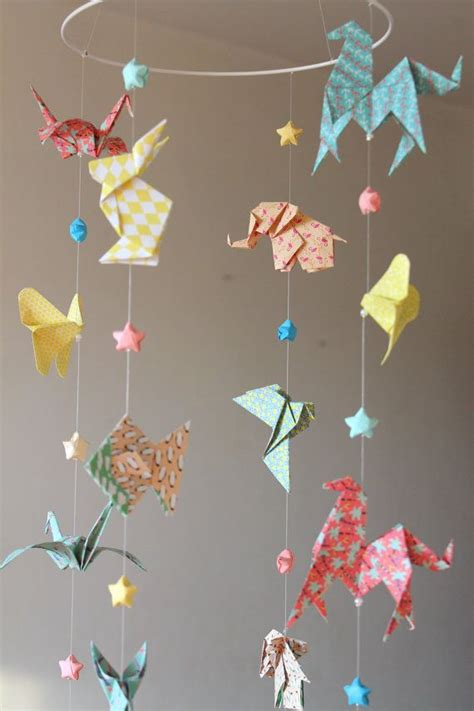 How To Make An Origami Mobile - origami mobile 25 best origami mobile ideas on