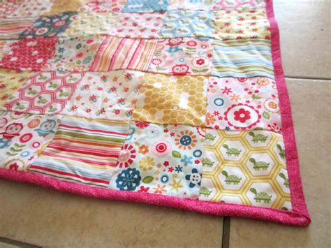 Quilting Patchwork - patchwork baby quilt it s all frosting