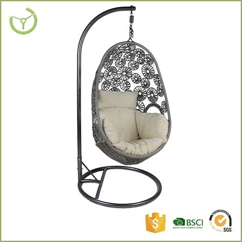 egg swing chair with stand 2016 indoor outdoor patio rattan wicker hanging egg swing