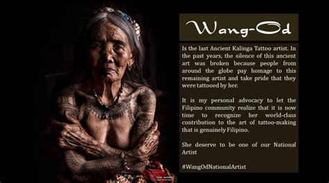 whang od a 97 years old national tattoo artist atbp