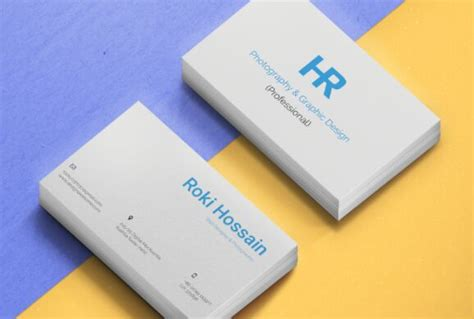 business card mockup template for coral psp free editable print friendly business card psd mockup