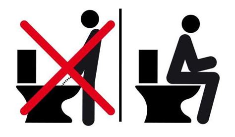 can i go to the bathroom in german german court rules that standing up to pee is a man s