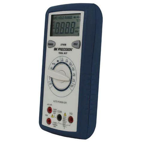 Bk Precision 2705b Auto Ranging Multimeter With Logic