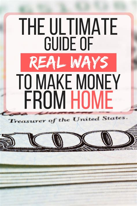 real ways to make money from home the ultimate guide