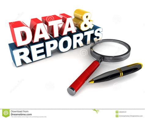 Free Search Reports Data Reporting Clipart