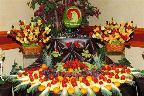 fruit table for wedding wedding fruit table by simply delicious fruit designs www
