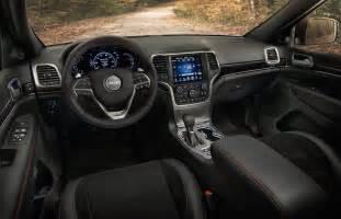 jeep grand srt interior car interior design