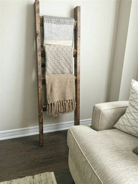 ladder home decor rustic wood blanket ladder rustic ladder decor