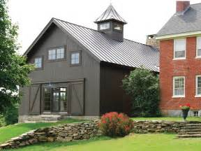 build a barn house vintage timber frame barn addition farmhouse exterior burlington by the mckernon group