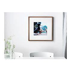 ribba frame medium brown ikea norrlida frame ikea the perfect frame to make collages