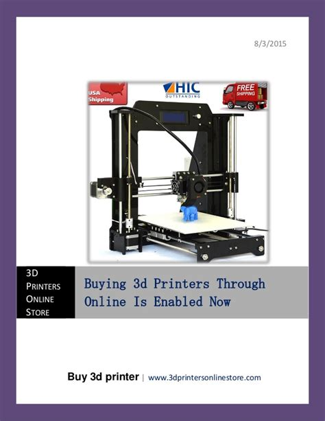 Buying A 3d Printer For Home