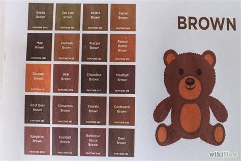 what colors make brown brown hairs