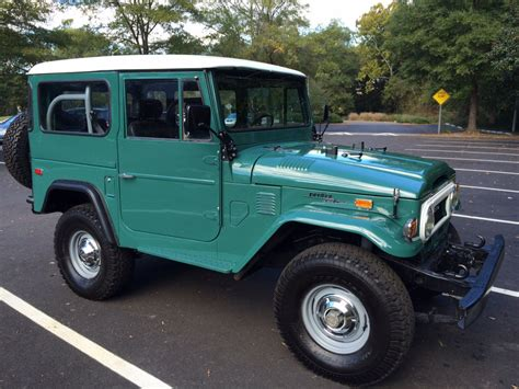 Wheels Toyota Land Cruiser Fj40 Putih 2011 for sale fs 1974 fj40 rustic green chapel hill nc