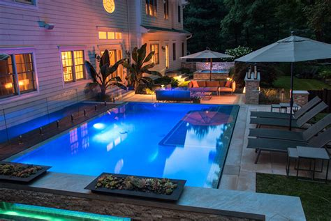 small yard pool small backyard pool design nj landscape design
