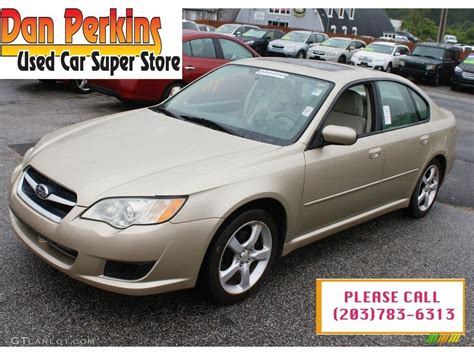 gold subaru legacy 2008 harvest gold metallic subaru legacy 2 5i sedan