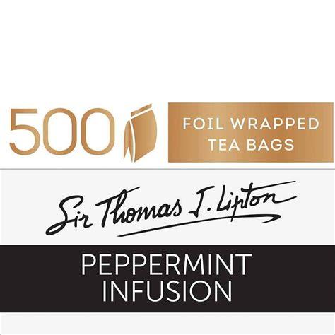 Teh Lipton Peppermint lipton stl peppermint tea bags teas5865 cos complete