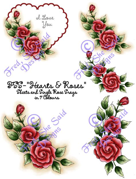 pictures of hearts and roses fred she said designs the store hearts roses