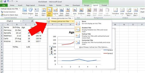 how to add titles to charts in excel 2016 2010 in a minute how to add titles to graphs in excel 8 easy steps