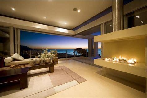 Luxus Wohnzimmer Modern Mit Kamin by Luxus Villa In Cape Town Asiatisches Interieur Trifft
