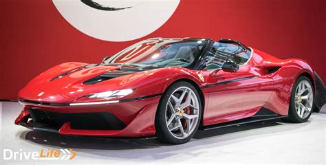 ferrari j50 ferrari celebrates 50 years in japan with j50 drive life