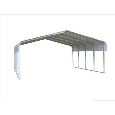 versatube 20 ft w x 20 ft l x 7 ft h steel carport