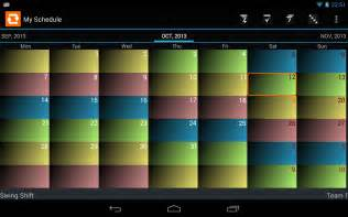 shift schedule alarm clock android apps on google play