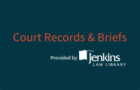 Il Court Records Briefs Now Available Free Enhance Your Practice Jenkins Library