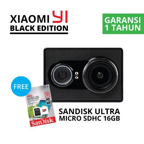 Xiaomi Yi Hitam jual xiaomi yi hitam harga dan spesifikasi