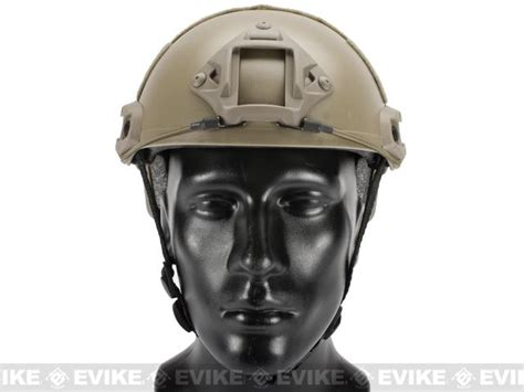 Helm Tactical Emerson Gear Fast Helmet Mh Type Airsoft Em8812 emerson fast type tactical airsoft helmet mich ballistic type basic earth tac gear