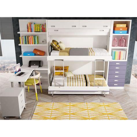 precios de camas literas dormitorios con literas abatibles verticales cuadruples