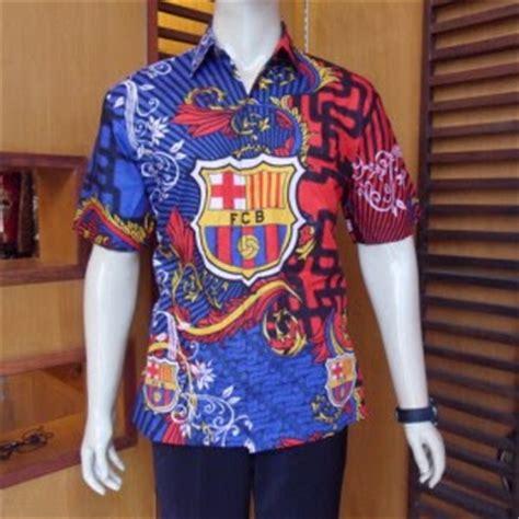 Baju Batik Bola kumpulan model baju batik bola terbaru 2013