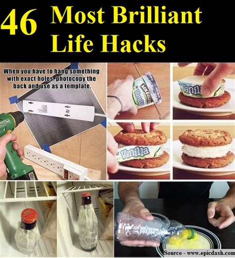 life hacks for home 46 most brilliant life hacks home and life tips
