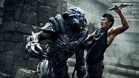 film iko uwais skyline beyond skyline images shred the alien invaders bloody