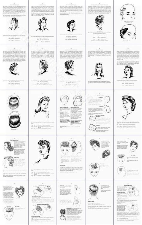 vintage hairstyles book pdf how to do 1940s hairstyles and make up 4 pdf book deal