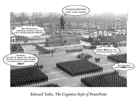 edward tufte books essay  cognitive style  powerpoint