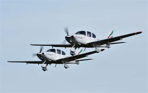 emirates flight training academy emirates flight training academy receives delivery of