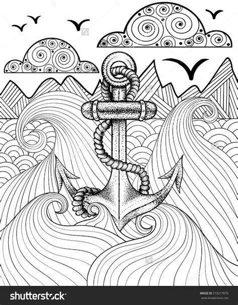 coloring pages for adults full page best anchor coloring pages drawing big collection free