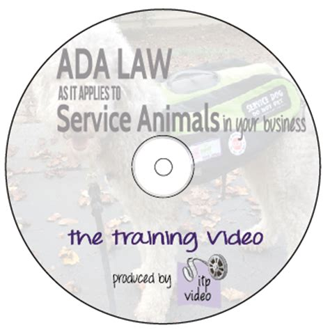 ada service laws ada cd cover rough2 ada for service animals the