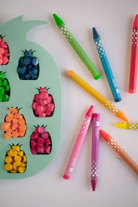 diy crafts with crayons diy pineapple crayons diy
