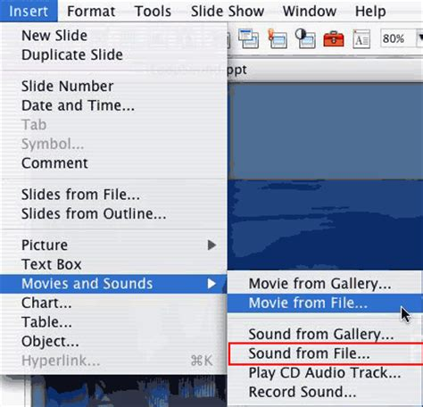 Sound Across Slides In Powerpoint 2004 For Mac Powerpoint Templates Folder Mac