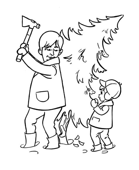 Coloring Trees Az Coloring Pages Tree Cut Out Coloring Pages