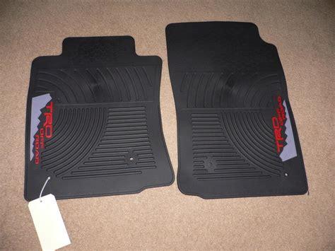 fs new trd floor mats tacoma world