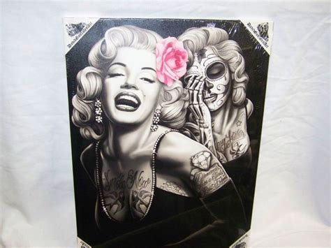 marilyn monroe with tattoos poster 17 best traditional ideas images on