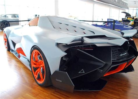 One Seater Lamborghini Egoista by Lamborghini Single Seat Concept Car Named