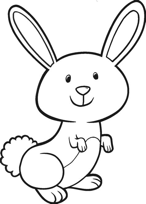 easter bunny traceable designs clipart best