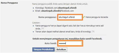 membuat username facebook cara membuat email facebook artikel teknologi komputer