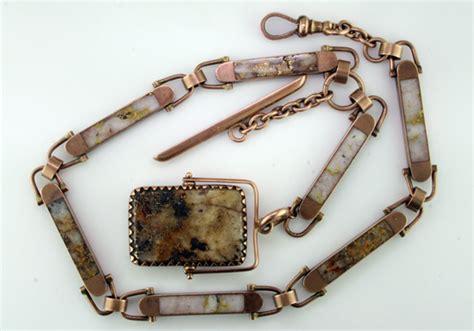 Handmade Jewelry California - vintage california gold in quartz chain mardon