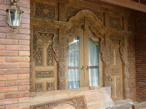 kumpulan desain pintu rumah gebyok terbaru  desain cantik