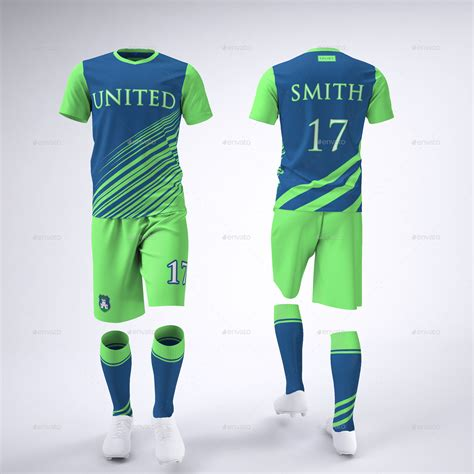desain jersey mock up soccer football team uniform mock up by sanchi477