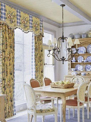 blue  yellow dining room french country pinterest